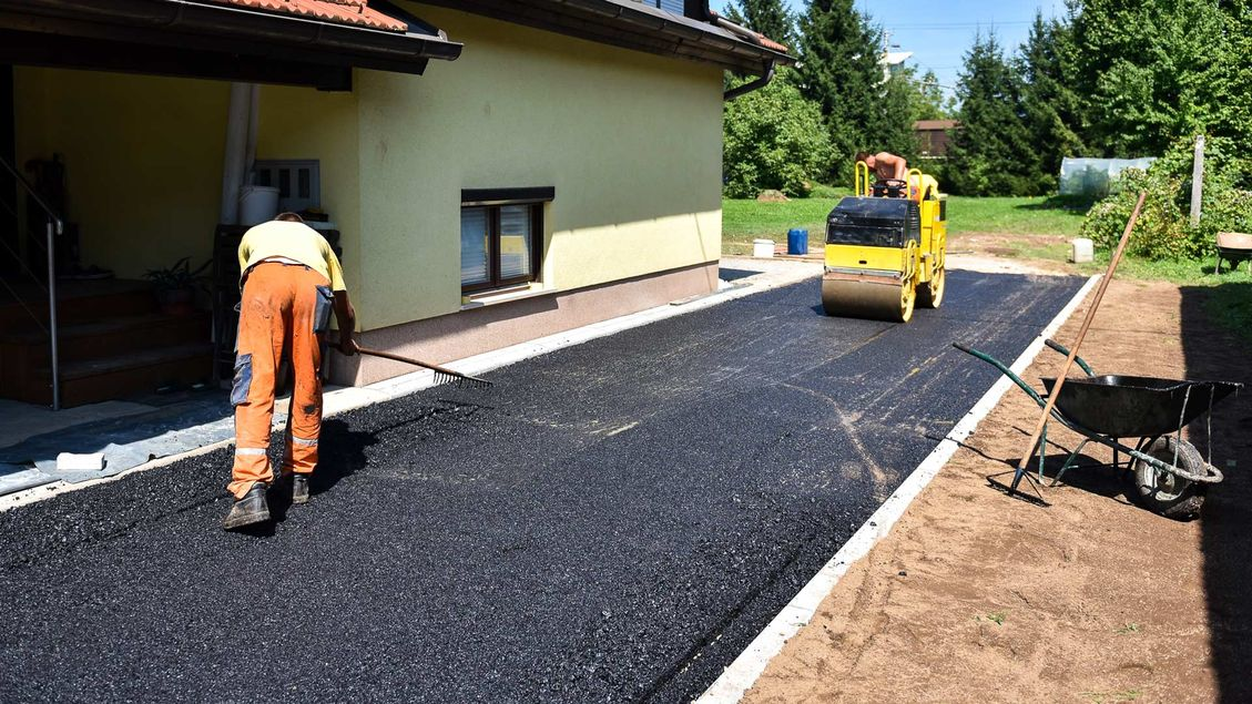 tarmac work that we are doing